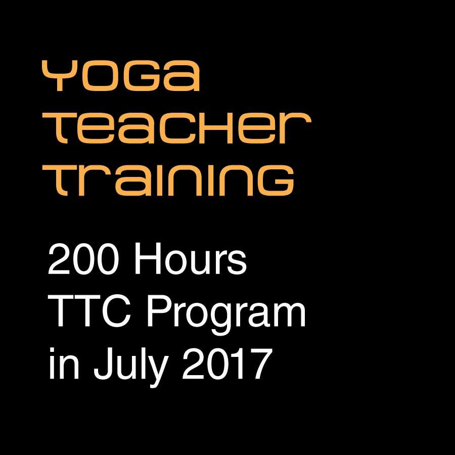Yoga Teacher Training - July 2017